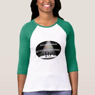 Custom REGGAE Artist On Their Grind Women Jersey T-shirts