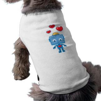 Custom Retro Robot Art Personalized Shirt