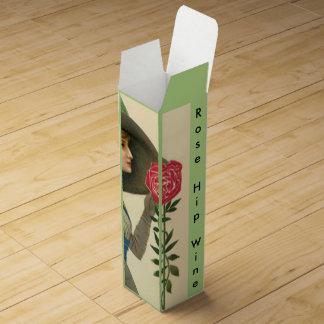 Custom Rose Hip Wine Box Gifting Your Homemade