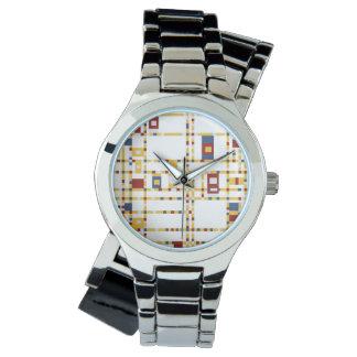 Custom Silver Wrap-Around Watch