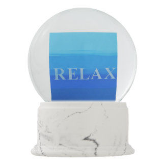 Custom Snowglobe Relax