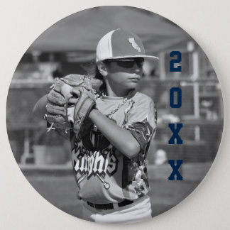 Custom Sports Photo 6 Cm Round Badge