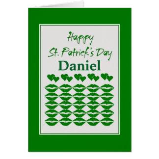 Custom St. Patrick's Day Card