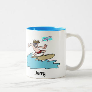 Custom Surfers Coffee - Tea Mug