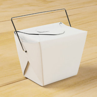 Custom Take-Out Favour Box