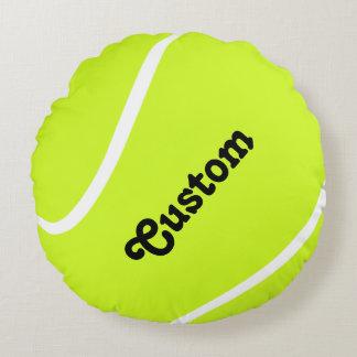Custom Tennis Ball Player or Team Name Pillow