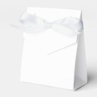 Custom Tent Favour Box (White Ribbon)