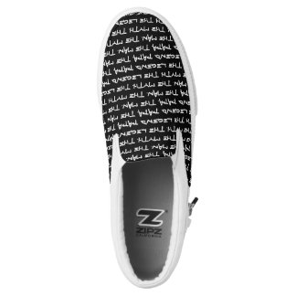 Custom Text Printed Shoes