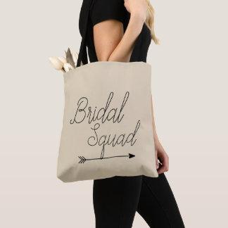 Custom Tote Bag, Bridal Squad Bag, Team Bride Bag