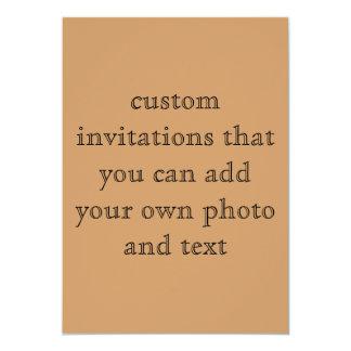 "Custom Two Sided Invitation 5"" X 7"" Invitation Card"