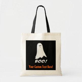 Custom Value-Priced Kids Ghost Halloween Treat Bag