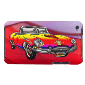 Custom Vintage 1966 Jaguar E-Type Roadster Barely There iPod Cover