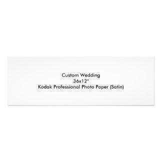 "Custom Wedding 36x12"" Kodak Pro Photo Paper"