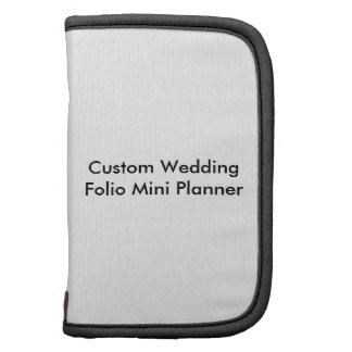 Custom Wedding Folio Mini Planner Planner