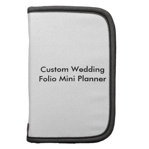 Custom Wedding Folio Mini Planner Folio Planner