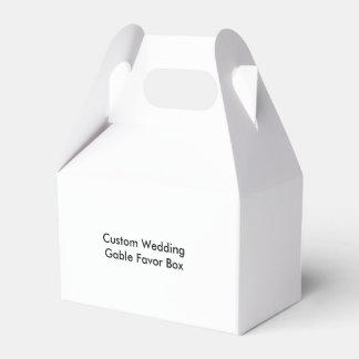 Custom Wedding Gable Favor Box Wedding Favour Boxes