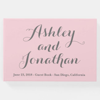 Custom Wedding Guest Book Personalized Guest Book