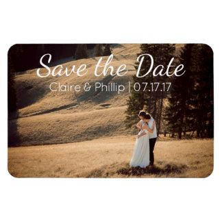 Custom Wedding Photo | Save the Date Magnet