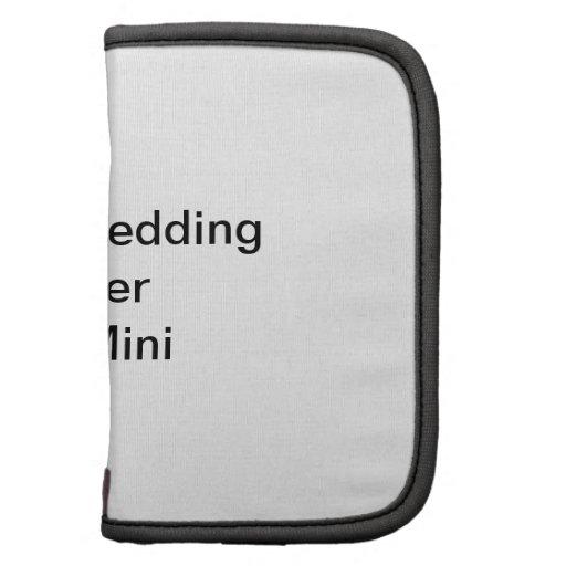 Custom Wedding Planner Folio Mini