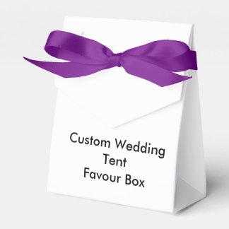 Custom Wedding Tent Favour Box
