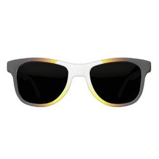 Custom White, Polarized Smoke Sun Sunglasses