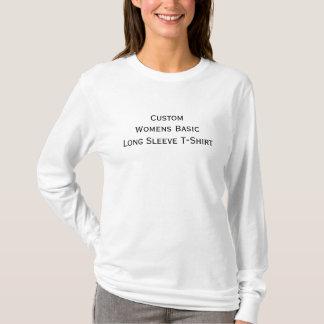Custom Womens Casual Basic Long Sleeve T-Shirt