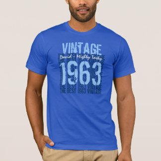 Custom Year Birthday Gift Best 19XX Vintage T-Shirt