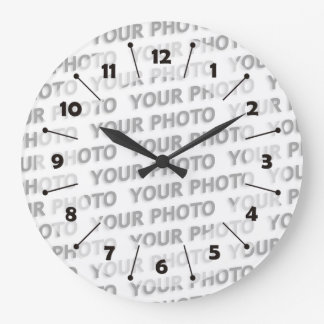 Custom your text, image & background color clocks
