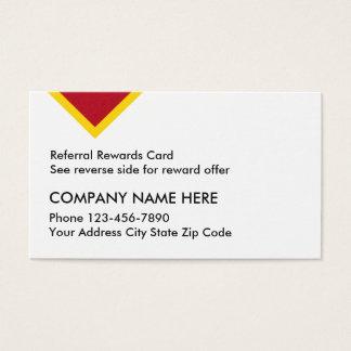 Customer Referral Reward Cards