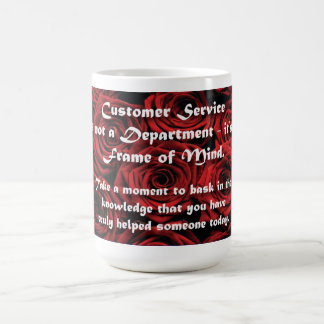Customer Service Frame of Mind Coffee Mug
