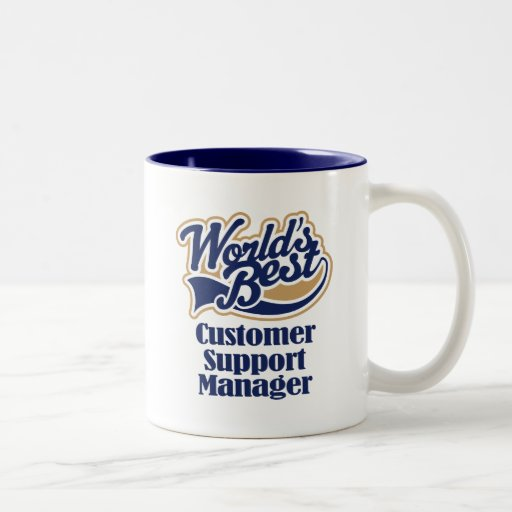 Customer Support Manager Gift Mugs