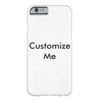 Customisable Barely There iPhone 6 Case