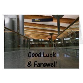 Customisable Good Luck & Farewell Card