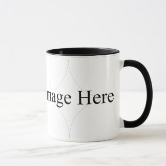 Customisable Photo, 11oz Ringer Mug