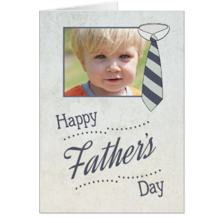 Customise Father's Day with Necktie Card