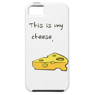Customise product this is my cheese iPhone 5 cases