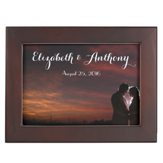 Customise with Photos Wedding Keepsake Box