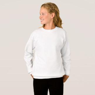 Customised XL Girls Hanes Sweatshirt