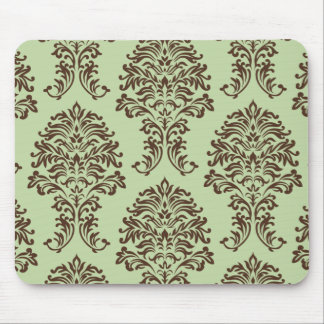 Customizable Color Damask Mouse Pads