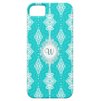 Customizable Color Monogram Lace Case For The iPhone 5