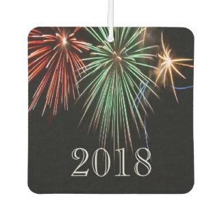 Customizable - Colorful Fireworks  - 2018 Car Air Freshener