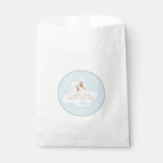 Customizable Dream Angel White Favor Bag Favour Bags