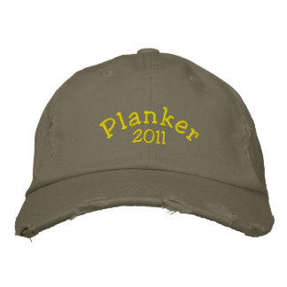Customizable Embroidered Distressed  Planker Cap