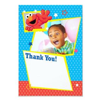 Customizable Extreme Elmo Thank You 9 Cm X 13 Cm Invitation Card