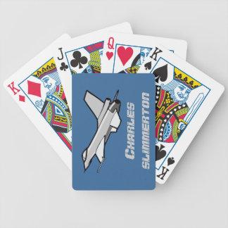 Customizable F16 Fighting Falcon Design Card Deck