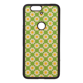 Customizable Flower Power Wood Nexus 6P Case
