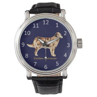 Customizable Golden Retriever Dog Wrist Watch