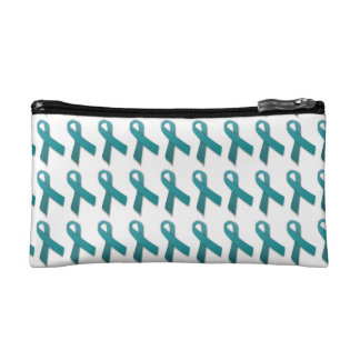 Customizable Gynecological Cancer Make up Bag
