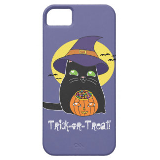 Customizable Halloween Witch Kitty iPhone 5 Cover