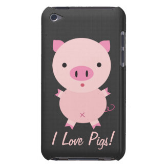 Customizable I Love Pigs iPod Case iPod Touch Cases